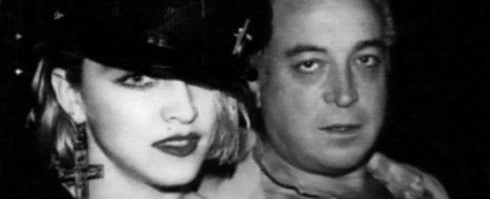 Madonna with Seymour Stein