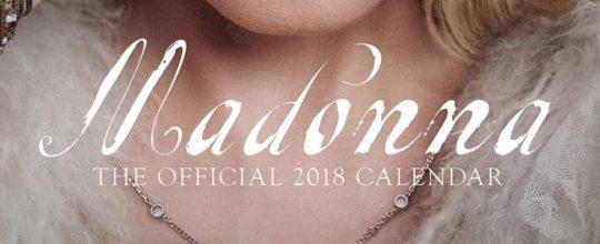Madonna 2018 Calendar
