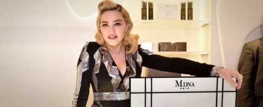 Madonna at Barneys