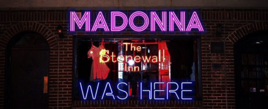 Madonna was here