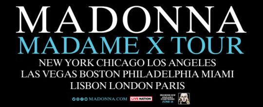 Madame X Tour